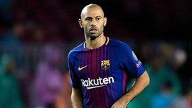 Маскерано рассказал, почему покинул Барселону