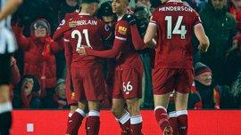 Ливерпуль – Ньюкасл – 2:0 - видео голов и обзор матча