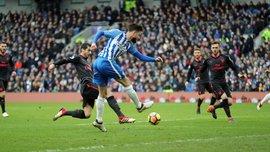 Брайтон – Арсенал – 2:1 – видео голов и обзор матча
