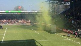 Фанаты в Голландии напали на игроков своей команды