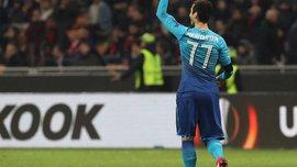 Мхитарян забил дебютный гол за Арсенал