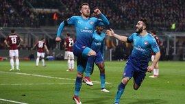 Милан – Арсенал – 0:2 – видео голов и обзор матча