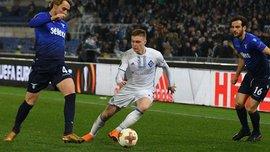 Циганков – найкращий гравець тижня в Лізі Європи