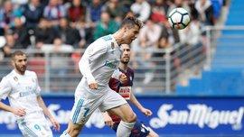 Реал вырвал победу над Эйбаром благодаря феноменальному Роналду – Рамос отлучался в туалет