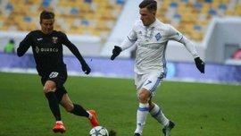 Динамо – Верес: Вербіч шикарним фінтом прокинув м'яч поміж ніг Сімініну
