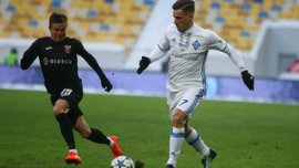 Динамо – Верес: Вербич шикарным финтом прокинул мяч между ног Симинину