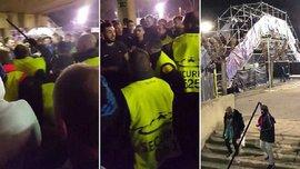 Барселона – Челсі: поліція побила англійських фанатів після матчу