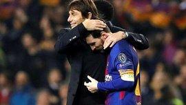 Конте розлютив гравців Челсі своїми обіймами з Мессі
