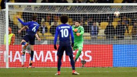 Динамо – Лацио: Лукас Лейва открыл счет после ошибки Бойко на выходе