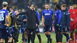 Динамо – Лаціо: Індзагі кумедно впав, святкуючи другий гол римлян