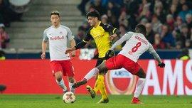 Зальцбург – Боруссия  Дортмунд – 0:0 – видеообзор матча