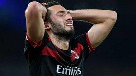 Арсенал – Мілан: Чалханоглу назвав арбітра Ерікссона найкращим гравцем матчу
