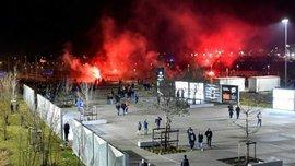 Лион – ЦСКА: 8 полицейских пострадали в столкновениях с болельщиками