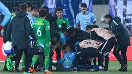 Гайтан потерял сознание во время матча в Китае