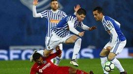 Реал Сосьедад – Хетафе – 1:2 – видео голов и обзор матча