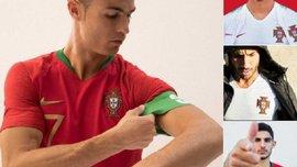Сборная Португалии представила новую форму на ЧМ-2018