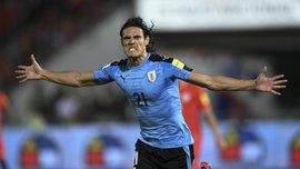 Уругвай – Чехія: Кавані забив розкішний гол бісіклетою