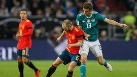 Німеччина – Іспанія: Іньєста висміяв захист чемпіонів світу своїм історичним гольовим пасом