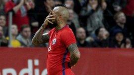 Відаль забив фантастичний гол у ворота Швеції