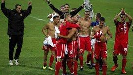 Сборная Гибралтара одержала первую победу в своей истории на домашнем поле