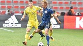 Украина – Япония – 2:1 – видео голов и обзор матча