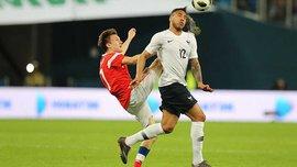 Россия – Франция – 1:3 – видео голов и обзор матча