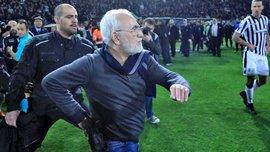 ПАОК и его президент Саввиди получили жесткое наказание из-за беспорядков на матче против АЕКа
