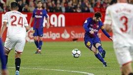 Севилья – Барселона – 2:2 – видео голов и обзор матча