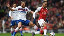 Арсенал – Сток Сіті – 3:0 – відео голів та огляд матчу
