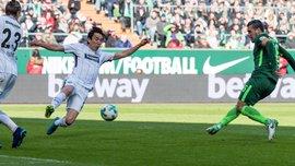 Вердер - Айнтрахт – 2:1 – видео голов и обзор матча