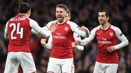 Арсенал розтрощив ЦСКА в чвертьфіналі Ліги Європи