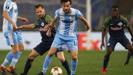 Пароло забив 300-ий гол Лаціо в єврокубках
