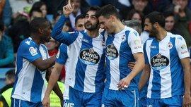 Депортиво – Малага – 3:2 – видео голов и обзор матча