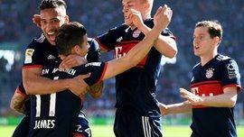 Баварія вшосте поспіль стала чемпіоном Німеччини