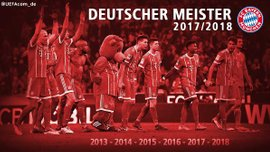 Баварія у роздягальні відсвяткувала шосте поспіль чемпіонство