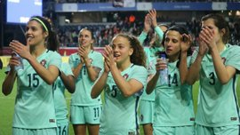 Футболистка сборной Португалии выдала космический финт сезона, которому позавидует и Роналду