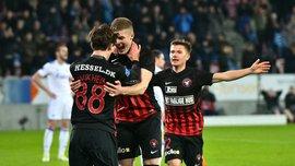 Довбик забив перший гол за Мітьюлланд – українець приніс вольову перемогу над Копенгагеном