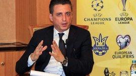 Денисов: Крісло президента Прем'єр-ліги –це електричний стілець