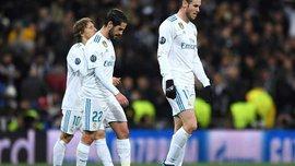 Реал Мадрид вперше в історії програвав у Лізі чемпіонів у 3 голи вдома