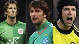 Шовковський та ще 9 голкіперів, які зіграли найбільше матчів у єврокубках