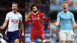 Кейн, Салах, де Брюйне и еще 3 игрока претендуют на звание футболиста года по версии PFA
