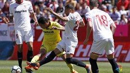 Севилья – Вильярреал – 2:2 – видео голов и обзор матча