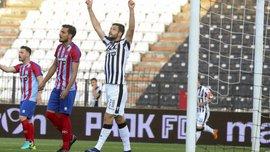 Шахов забив за ПАОК у матчі проти Паніоніса