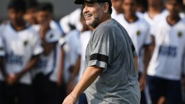 Марадона продемонстрировал свое восхищение легендарным футзалистом