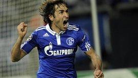Шальке – Боруссия Д: Рауль поддерживал бывшую команду на трибунах