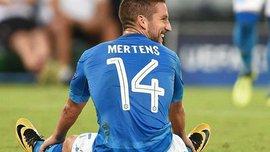 Наполи не может договориться с Мертенсом о новом контракте