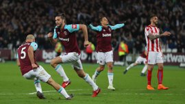 Вест Хэм – Сток Сити – 1:1 – видео голов и обзор матча