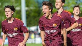 Юношеская Лига УЕФА, 1/2: Манчестер Сити – Барселона – 4:5 – видео голов и обзор матча