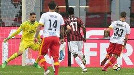 Милан – Беневенто – 0:1 – видео гола и обзор матча
