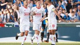 Лучкевич сыграл 46 минут в феерическом матче Стандард – Брюгге, в котором забили 8 голов